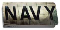 Portable Battery Charger featuring the photograph Navy - Kaman K-16b Experimental Aircraft by Gary Heller