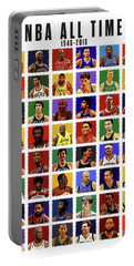 Nba All Times Portable Battery Charger