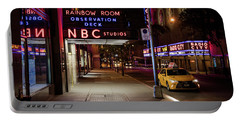 Nbc Studios And Cab  Portable Battery Charger