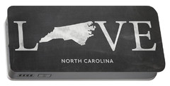 Nc Love Portable Battery Charger by Nancy Ingersoll