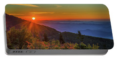 Nc Mountain Sunrise Blue Ridge Mountains Portable Battery Charger
