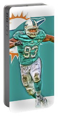 Ndamukong Suh Miami Dolphins Oil Art Portable Battery Charger