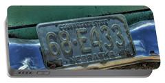 Nebraska Plate Portable Battery Charger