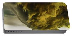 Nebraska Supercell, Arcus, Shelf Cloud, Remastered 018 Portable Battery Charger