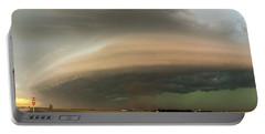 Nebraska Thunderstorm Eye Candy 020 Portable Battery Charger