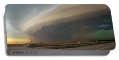 Nebraska Thunderstorm Eye Candy 026 Portable Battery Charger