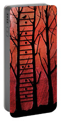 Neck Of The Woods I Portable Battery Charger by Gary Bodnar