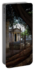 Necropolis Cristobal Colon Havana Cuba Cemetery Portable Battery Charger by Charles Harden