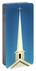 Needle-shaped Steeple Portable Battery Charger