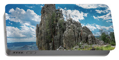 Needles Highway Rock Formation Portable Battery Charger