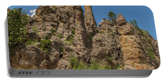Needles In Custer State Park Portable Battery Charger by Brenda Jacobs