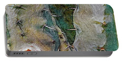 Needles In The Desert Portable Battery Charger by Kathie Chicoine