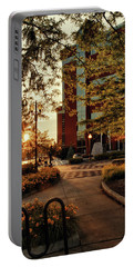 Portable Battery Charger featuring the photograph Neenah Center Sunset by Joel Witmeyer