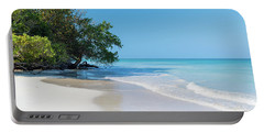 Negril Beach Morning Portable Battery Charger