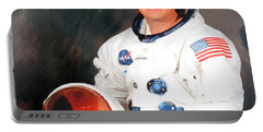 Neil Armstrong Portable Battery Charger