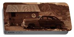 Nelson Chrysler - Sepia Portable Battery Charger