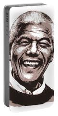 Nelson Mandela Portable Battery Charger