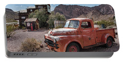 Nelson Old Dodge In The Desert Portable Battery Charger