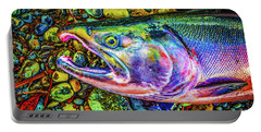 Neon Coho  Portable Battery Charger