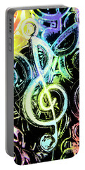 Neon Notes Portable Battery Charger