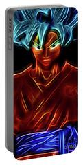 Neon Ss God Goku Portable Battery Charger