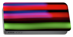Neon Stripe Portable Battery Charger