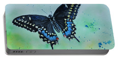 Neon Swallowtail Portable Battery Charger