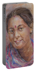 Nepal Girl 6 Portable Battery Charger