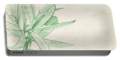 Portable Battery Charger featuring the digital art Nerium Oleander by Gina Harrison