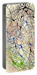 Nerve Cells Santiago Ramon Y Cajal Portable Battery Charger