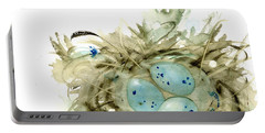 Nest And 3 Eggs Portable Battery Charger