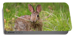 Nesting Rabbit Portable Battery Charger by Terry DeLuco
