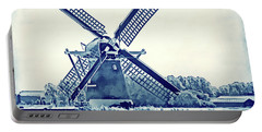 Netherlands - Dutch Windmill Portable Battery Charger