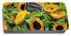 Netherlands Sunflowers Portable Battery Charger