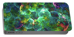 Neurons Abstract Portable Battery Charger