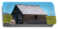 Nevada Log Cabin Portable Battery Charger