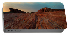 Nevada Sandstone Sunset Portable Battery Charger