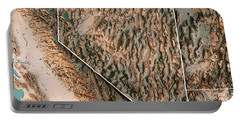 Nevada State Usa 3d Render Topographic Map Neutral Border Portable Battery Charger