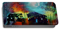 Portable Battery Charger featuring the digital art Never Alone  by Yul Olaivar