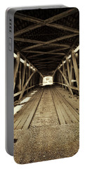Nevins Bridge Portable Battery Charger by Joanne Coyle