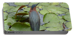 Nevis Bird Observes Portable Battery Charger by Margaret Brooks
