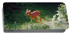New Backyard Visitor Portable Battery Charger