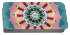 Portable Battery Charger featuring the photograph New Color Wheel by Shirley Moravec