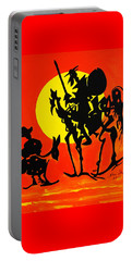 New Don Quixote Portable Battery Charger
