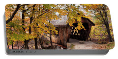 New England College No. 63 Covered Bridge  Portable Battery Charger by Betty Pauwels