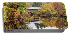 New England Covered Bridge No.63 Portable Battery Charger