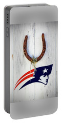 New England Patriots Good Luck Portable Battery Charger