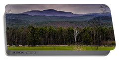 Portable Battery Charger featuring the photograph New England Spring In Oil by Mark Myhaver