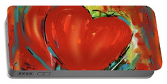 New Heart Portable Battery Charger