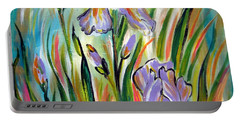 New Irises Portable Battery Charger